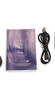 bluetooth 4,0 i bil højttaler højttalertelefon håndfri universal sort