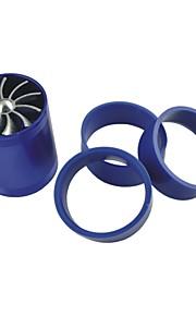 køretøjer bil dobbelt turbine turbolader luftindtag gas brændstof SPAR fan blå
