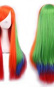 cos peruukki kolme väri kaltevuus Japanin alkuperäinen sufeng pitkät suorat hiukset peruukki