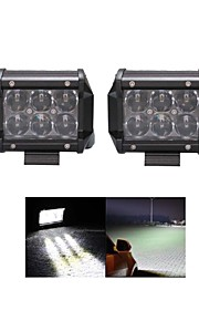 2x 30W OSRAM LED Work Light Bar Offroad 12V 24V ATV Flood Offroad for  Truck 4x4 UTV
