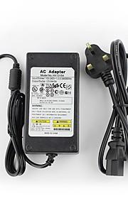 yanse® 12v5a CCTV-system strømforsyning + ac 100 ~ 240v 50 / 60Hz input til DC 12V 5000ma udgang (eu / AU / US / UK standard) førte