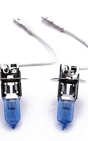 2 x h3 xenón faros de gas luz principal bombillas 100w