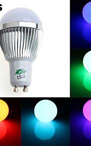 Zweihnder GU10 3W 250LM 450-700nm 1xLED RGB Light Bulb Light (AC 85-265V-4Pcs)
