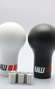 Universal Newest High Quality 5/6 Speed RALLIART Shift Knob Sport Car Auto Gear Shift Knob Manual Transmission MT