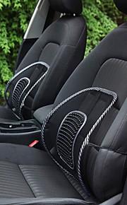 ziqiao silla de oficina sofá cubierta de asiento de coche cojín de masaje fresco lumbar almohada lumbar cojín corsé
