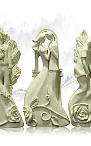 Creative Love Life Bride And Groom Decoration