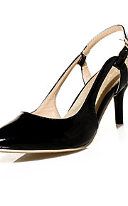 Women's Shoes Patent Leather Stiletto Heel Heels / Pointed Toe Heels Wedding / Party & Evening / Dress Black / Green