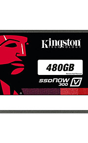 kingston digitale 480GB SSDNow V300 sata 3 2.5 (7mm hoogte) solid state drive (sv300s37a / 480g)