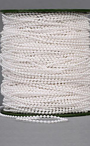 "100 Meters 1"" (2.5cm) Width Pearl Beads Chain Garland Flowers Wedding Party Decoration"