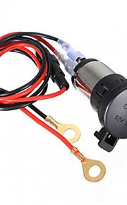 12v 120w auto motorfiets sigarettenaansteker stopcontact 60cm cord
