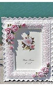Cadre photo ( Blanc , Moins de 10 ) - Thème floral / Thème classique