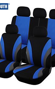 cubierta de asiento de coche clásicos autoyouth ajuste universal coche más marca cubre fundas de asiento del asiento de coche protector de