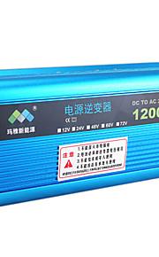 1000w voertuig omvormer omvormer transformator 12v naar 220v met ventilator