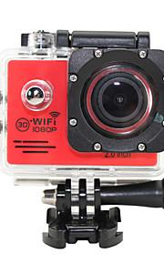OEM SJ7000 WIFI Sportskamera 2 5MP1280x960 / 640 x 480 / 2048 x 1536 / 2592 x 1944 / 4608 x 3456 / 3264 x 2448 / 1920 x 1080 / 4032 x