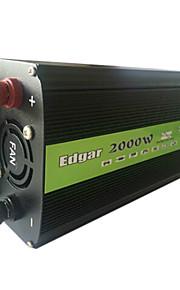 2000w voertuig omvormer omvormer transformator 48v naar 220v met ventilator