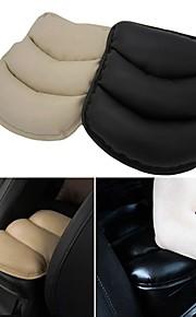 ziqiao apoyabrazos del coche de auto cubierta del brazo del asiento, del resto del cojín funda protectora suave de la PU esteras