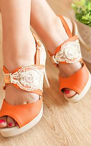 Women's Shoes Heel Heels Heels Office & Career / Party & Evening / Casual Beige / Orange  323