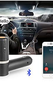 bluetooth FM transmitter, universal trådløs FM-sender / mp3-afspiller / bil oplader