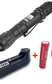 Alliage aluminium-Lampe torche-Pointeur laser vert