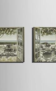 海の純粋な手でミニサイズe-ホーム油絵現代の余暇時間は、フレームレス装飾画を描きます