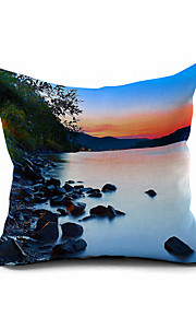 2016 New Arrival  Cotton/Linen Pillow Cover , Nature Modern/Contemporary Pillow Linen Cushion