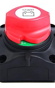 vertind koper 60v jacht schakelaar 600a dc (ac - 701) zwart&rood