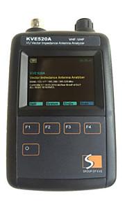 VHF / UHF vu vektor impedans antenne analysator kve520a med 5pcs adaptere til walkie talkie