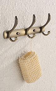 Crochet à Peignoir,Contemporain Cuivre Antique Fixation Murale