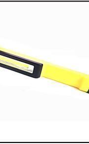 LED taskulamput LED 1 Tila 160 Lumenia Leikata / Hätä Muut AAA Päivittäiskäyttöön / Työskentely / Ulkoilu-Muut,Keltainen ABS