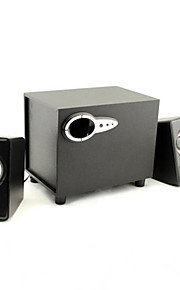 jituo houten subwoofer USB Power 2.1 spearker voor computer ipad ipod en tablet jt2806yx
