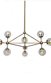 3W Rustique Style mini Plaqué Métal LustreSalle de séjour / Chambre à coucher / Salle à manger / Bureau/Bureau de maison / chambre