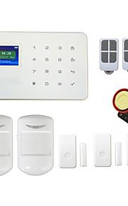 sistema di allarme senza fili di GSM G18 TFT touch ALARMAS porta visualizzazione PIR per la sicurezza della casa intelligente Android