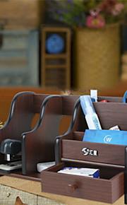 מחזיקי עטים וקופסאות-Wood-Cute / עסקים / מדפסות משולבות