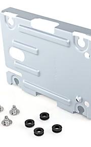 """harddisk monteringsbeslag stå kit erstatning 2,5 """"til sony ps3 super slim konsol med skruer"""