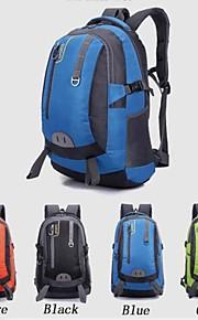 40L L mochila Acampada y Senderismo / Viaje Al Aire Libre Impermeable / Cremallera a prueba de agua / Listo para vestir / Transpirable