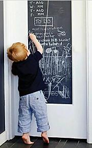 Easy Removable Blackboard House Keeping Vinyl Chalkboard Decals 200X45cm Chalkboard