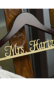 Rustic Wedding Hanger, Personalized Wedding Dress Hanger, Custom Bridal Bridesmaid Hanger