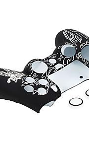 witte plastic huid beschermhoes dekking voor PS4 controller