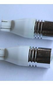 T15 5W luz blanca luz de marcha atrás carturn