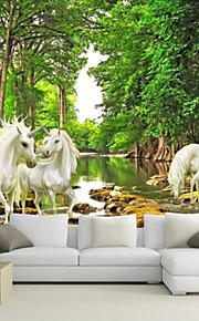 아트 데코 벽지 콘템포라리 벽 취재,기타 Large Mural Wallpaper Whitehorse