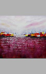 modernas y agradables pinturas al óleo paisaje arquitecturas de diseño abstracto enmarcado pintura acrílica