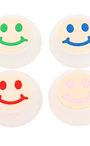 10stk / lot smil ansigt silikone cap joystick greb til PS4 ps3 xbox 360 xbox én controller