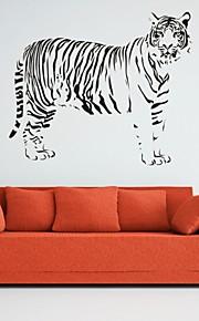 חיות / רומנטיקה / אופנה / אבסטרקט / פנטזיה מדבקות קיר מדבקות קיר מטוס,PVC M:42*50cm / L:55*66cm