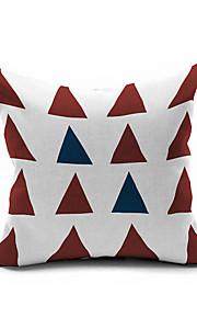 Cotton/Linen Pillow Cover , Nature Modern/Contemporary Pillow Linen Cushion