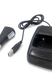 bilbatteri eliminator til bf-777 bf-888s bf-666s lys cigaret usb bil oplader