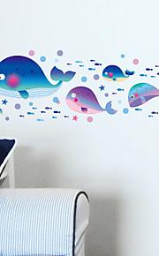 Animais / Romance / Paisagem / Fantasia Wall Stickers Autocolantes de Aviões para Parede,pvc 45*30CM