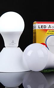 Ampoules Globe LED Décorative Blanc Froid ACEM 1 pièce A60(A19) E26/E27 7W 16 SMD 2835 700 lm AC 100-240 V