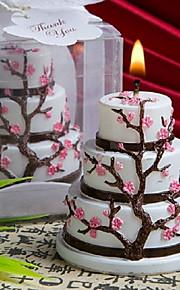 Thème asiatique / Thème classique / Thème de conte de fées / Fête prénatale Favors Candle-1 Piece / Set Bougies Non personnaliséRose /