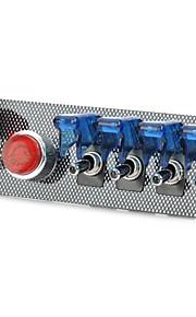 flip-up start contactslot knoppenpaneel diy auto modificatie switch