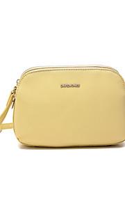 DAVIDJONES/Women PU / leatherette Sling Bag Shoulder Bag / Wristlet / Cross Body Bag / -More Color